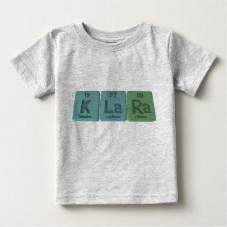 Klara as Potassium Lanthanum Radium Tee Shirt