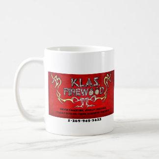 KLAS FIREWOOD business cards Coffee Mug
