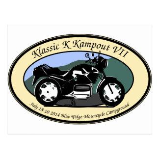 Klassic K Kampout VII Post Cards