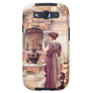Klassische Kunst-Frau Galaxy SIII Cover