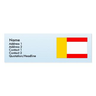 Klaster Hradiste nad Jizerou, Czech Business Card Templates