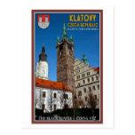 Klatovy - la torre negra postal
