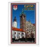 Klatovy - la torre negra tarjeton