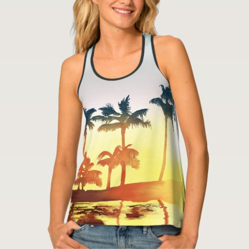 Klaus Hargreeves Palm Tree Tank Top Replica
