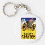 Klausen Race ~ Vintage Automobile Ad Key Chain