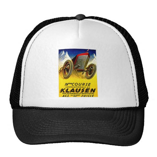 Klausen Race ~ Vintage Automobile Ad Trucker Hat