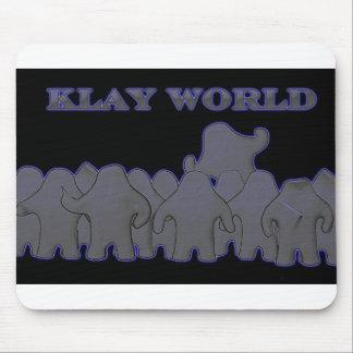 Klay World Black Glow MousPad Mouse Pad