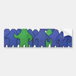 Klay World Bumper Sticker