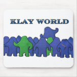 Klay World Mouse Padd Mouse Pad