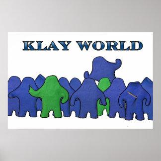 Klay World Poster