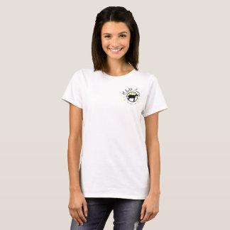 KLD Farm pocket logo white shirt