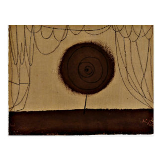 Klee - A Flower Performs Postcard
