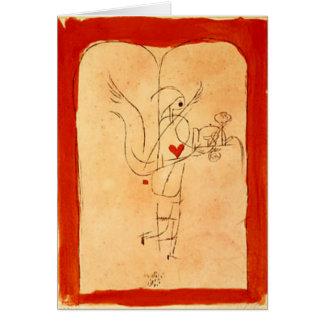 Klee - A Spirit Serves a Small Breakfast Card