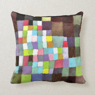 Klee: Abstraction with Reference to Flowering Tree Throw Pillow