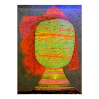 Klee - Actor's Mask Poster