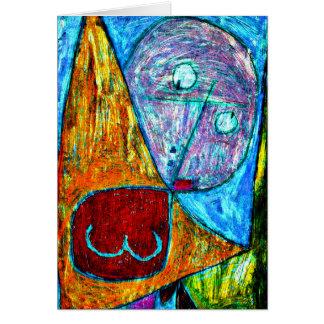 Klee - Angel Still Feminine Stationery Note Card