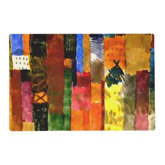 Klee - antes de la ciudad tapete individual