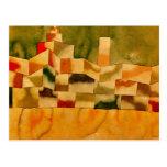 Klee - arquitectura oriental postal