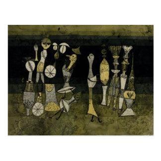 Klee - Comedy Postcard