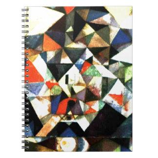 Klee: Con el huevo, pintura de Paul Klee Spiral Notebooks