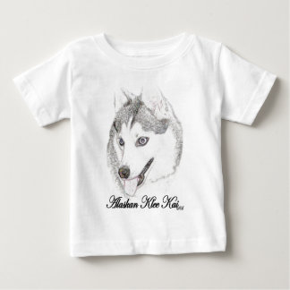 Klee de Alaska Kai Playera De Bebé