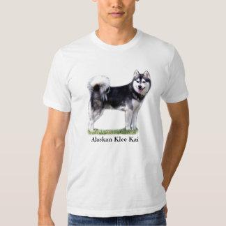 Klee de Alaska negro y blanco Kai Remera