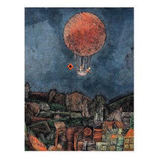 Klee - Der Luftballoon Postcard