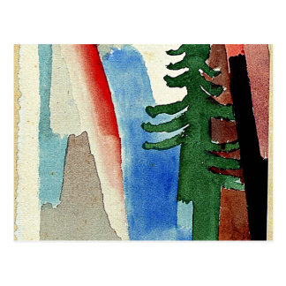 Klee: El abeto Postal