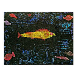 Klee - el Goldfish Postales