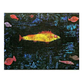 Klee: El Goldfish Postales