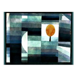 Klee: El mensajero del otoño Postal