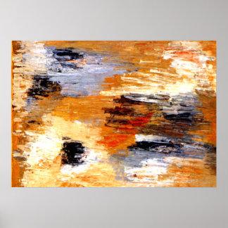Klee - en las nubes póster
