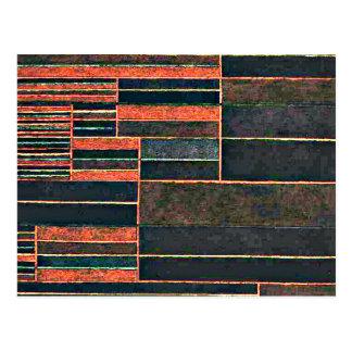 Klee - en los seis umbrales actuales tarjetas postales