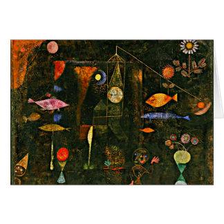 Klee - Fish Magic Greeting Card