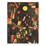 Klee - Full Moon Post Card