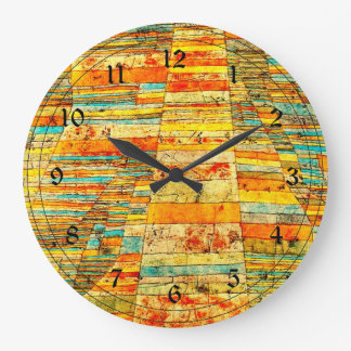 Klee - Highways and Byways Large Clock