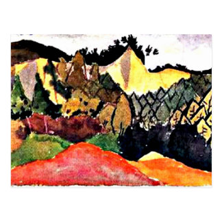 Klee - In the Quarry Postcard