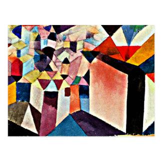 Klee - Insight into a City Postcard