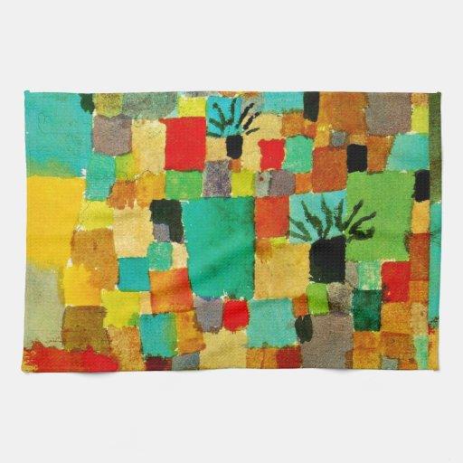 Klee - jardín (tunecino) meridional toallas de mano