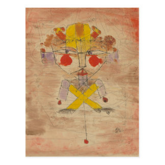 Klee - Jumping Jack Postcard