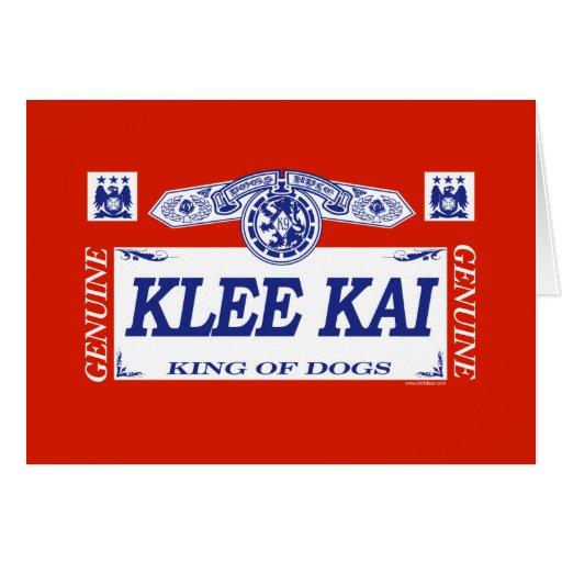 Klee Kai Tarjeton
