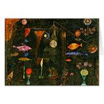 Klee - magia de los pescados felicitacion