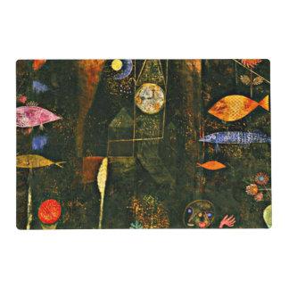 Klee - magia de los pescados tapete individual