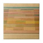 "Klee - Measured Fields Ceramic Tile<br><div class=""desc"">Paul Klee artwork,  Measured Fields</div>"