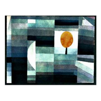 Klee - Messenger of Autumn Postcard