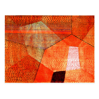 Klee - modelo 105, Polyphony en color Tarjeta Postal