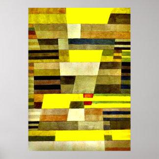 Klee: Monument Print