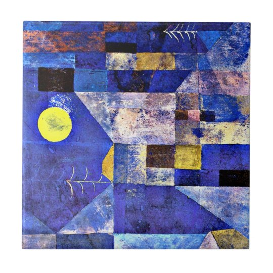 Klee Moonlight Paul Klee Painting Ceramic Tile Zazzle