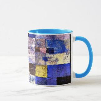 Klee- Moonlight, Paul Klee painting Mug