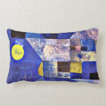 Klee- Moonlight, Paul Klee painting Pillow